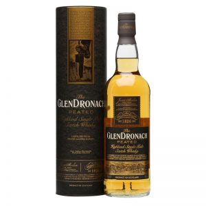 Bottle_The GlenDronach Peated Port Wood Tube Combo