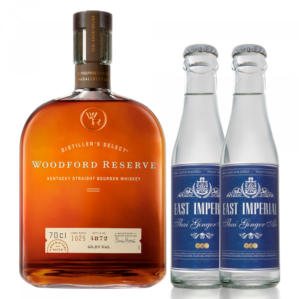 Woodford Reserve + East Imperial Ginger Ale
