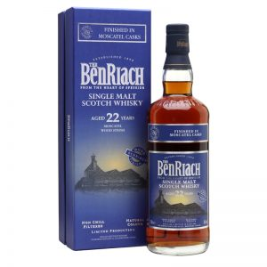Bottle_Benriach 22 Years Moscatel Wood Finish