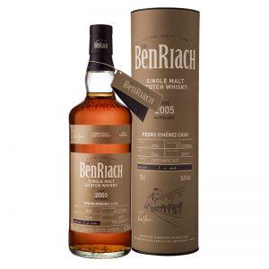 Bottle_BenRiach 13YO 2005 Cask 6924 Pedro Ximenez Butt