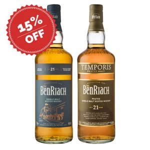 Bottle_BenRiach 21 Classic & Temporis_Discount15