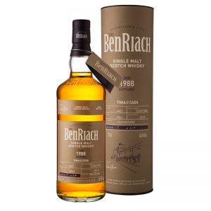 Bottle_BenRiach 30YO 1988 Cask 4422 Tokaji Hogshead