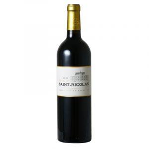 Bottle_Château Saint Nicholas 2015