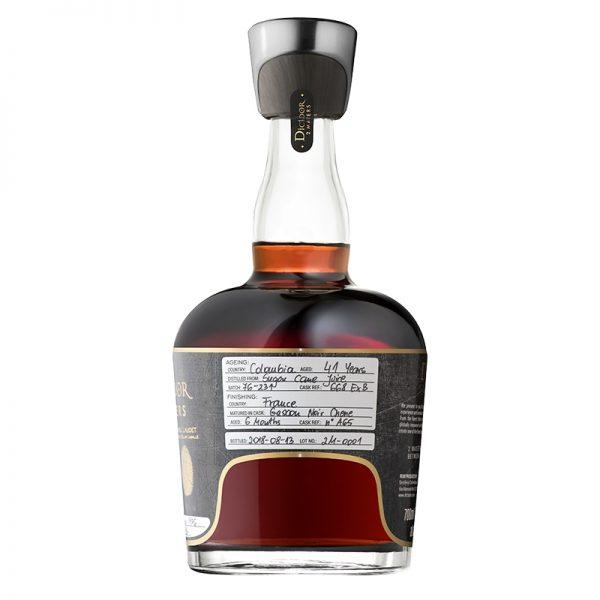 Bottle_Dictador 2 Masters Laballe 1976 (Armagnac) - Back