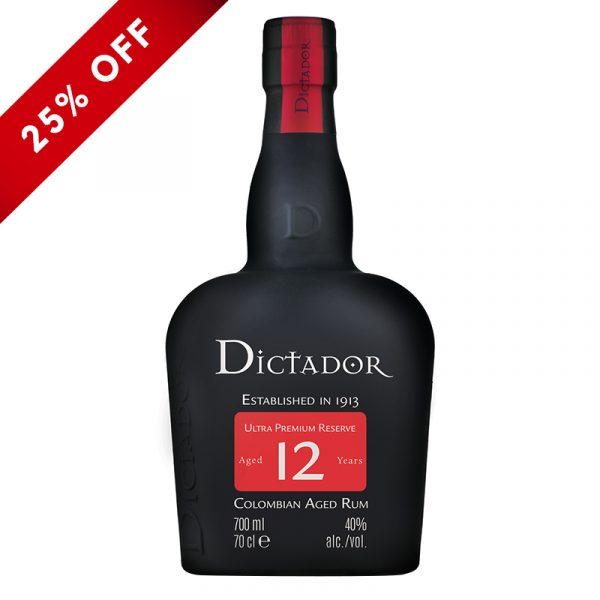 Bottle_Dictador Rum Aged 12 Years_25OFF