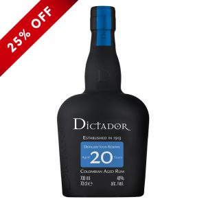Bottle_Dictador Rum Aged 20 Years_25OFF