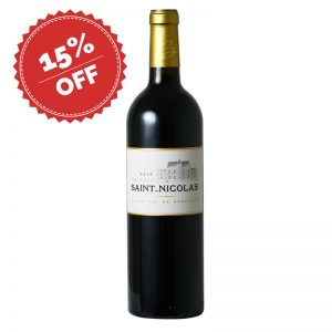 Bottle_ECommerce_Promotion - Château Saint Nicholas 2015