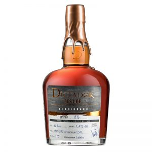 Bottle_Rum Dictador Best Of 1972 41 - Apasionado