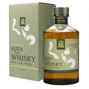 Bottle_Kura The Whisky Rum Cask Finish Box