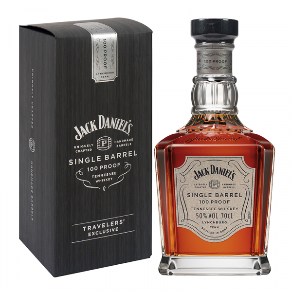 Bottle_Jack Daniels Single Barrel 100 Proof Box