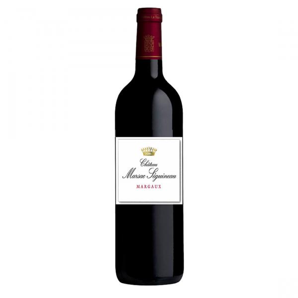 Bottle-Chateau-Marsac-Seguineau,-Margaux-A.O.C---No-Vintage