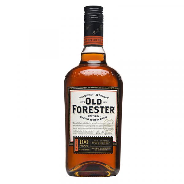 Bottle_Old Forester 100 Proof