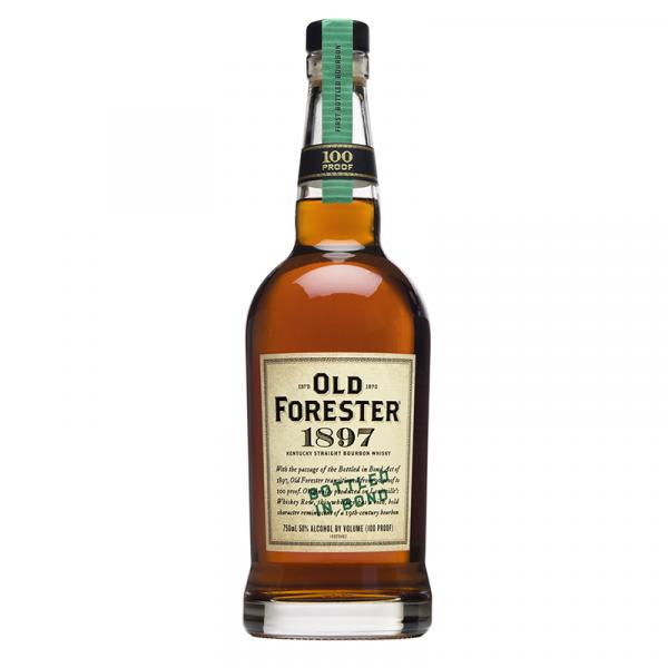 Bottle_Old Forester 1897 Bottled in Bond