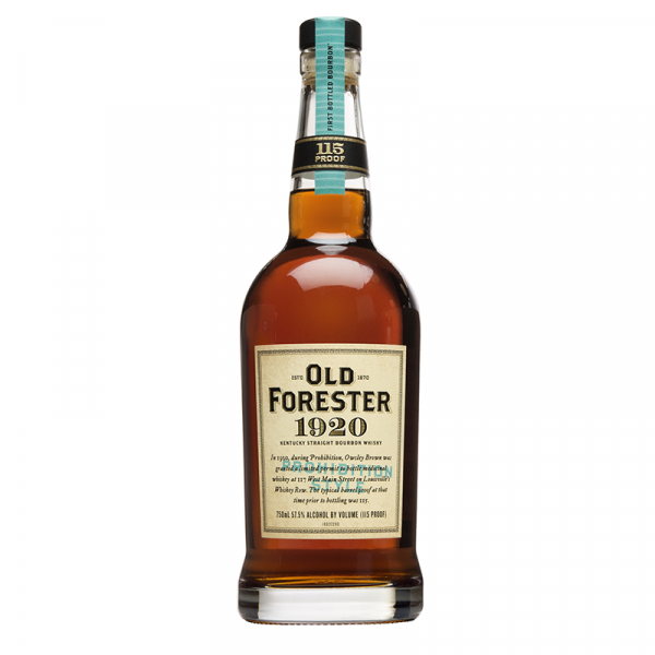 Bottle_Old Forester 1920 Prohibition Style