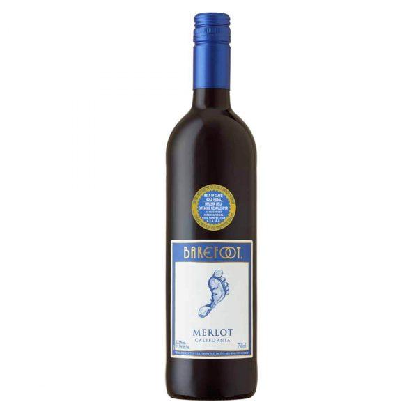 Bottle_Barefoot Cellars California Merlot, 750 ML-min