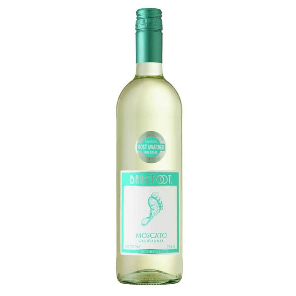 Bottle_Barefoot Cellars California Moscato, 750 ML-min