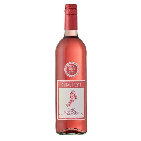 Bottle_Barefoot Cellars California Pink Moscato, 750 ML-min