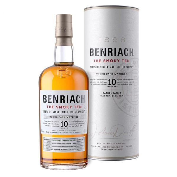 Bottle-BenRiach-The-Smoky-Ten---700ML